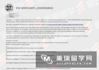 英国爱丁堡玛格丽特皇后学院留学申请条件